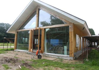 Nieuwbouw houtskelet woning